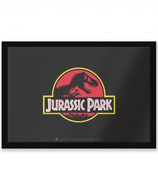 Paillasson Logo Jurassic Park Jurassic Park chez Casa Décoration