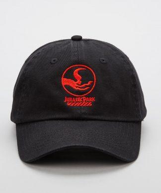 Casquette brodée Jurassic Park Primal Raptor Crew - Noir chez Casa Décoration