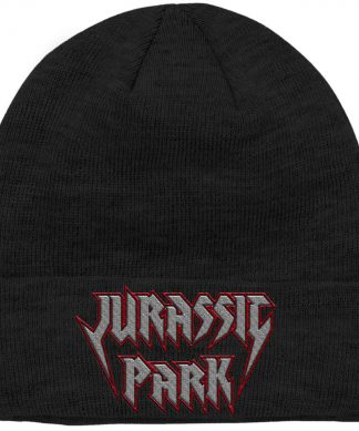 Bonnet Jurassic Park Rock Theme Logo Brodé chez Casa Décoration