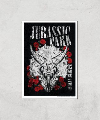 Poster Fine Art Jurassic Park Isla Nublar 93 - A3 - Print Only chez Casa Décoration