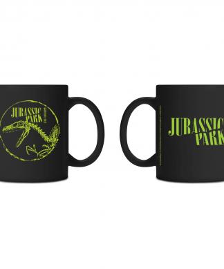 Tasse Jurassic Park Punk - Noir chez Casa Décoration