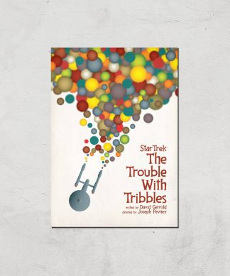 The Trouble With Tribbles Giclee - A4 - Print Only chez Casa Décoration