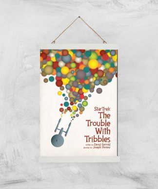 The Trouble With Tribbles Giclee - A3 - White Hanger chez Casa Décoration