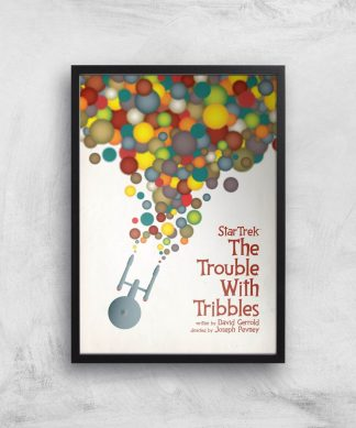 The Trouble With Tribbles Giclee - A3 - Black Frame chez Casa Décoration