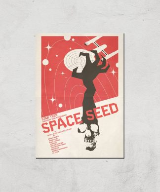 Space Seed Giclee - A4 - Print Only chez Casa Décoration