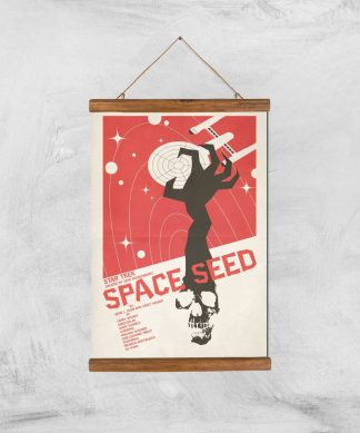 Space Seed Giclee - A3 - Wooden Hanger chez Casa Décoration