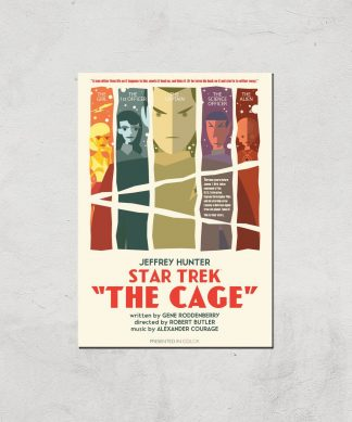 The Cage Giclee - A4 - Print Only chez Casa Décoration