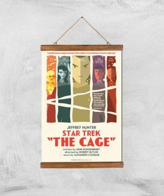 The Cage Giclee - A3 - Wooden Hanger chez Casa Décoration