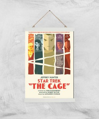 The Cage Giclee - A3 - White Hanger chez Casa Décoration