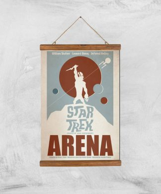 Arena Giclee - A3 - Wooden Hanger chez Casa Décoration