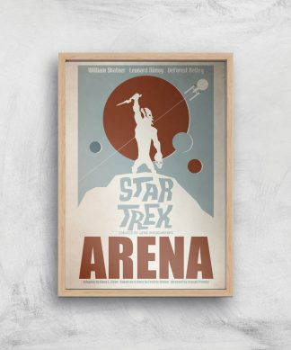 Arena Giclee - A2 - Wooden Frame chez Casa Décoration