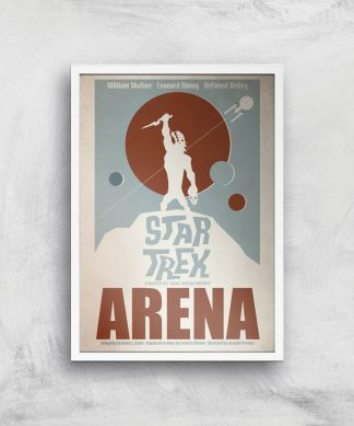 Arena Giclee - A2 - White Frame chez Casa Décoration