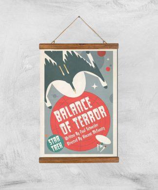 Balance Of Terror Giclee - A3 - Wooden Hanger chez Casa Décoration