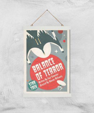 Balance Of Terror Giclee - A3 - White Hanger chez Casa Décoration