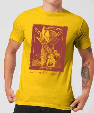Flash Gordon Retro Movie Poster Men's T-Shirt - Yellow - XS chez Casa Décoration
