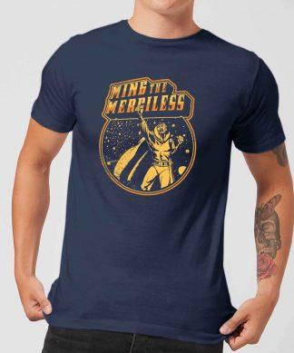 Flash Gordon Ming The Merciless Retro Comic Men's T-Shirt - Navy - XS - Navy chez Casa Décoration