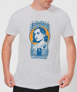 Fantastic Beasts Leta Lestrange Men's T-Shirt - Grey - XS - Gris chez Casa Décoration