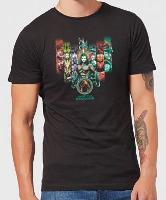 Aquaman Unite The Kingdoms Men's T-Shirt - Black - XS - Noir chez Casa Décoration