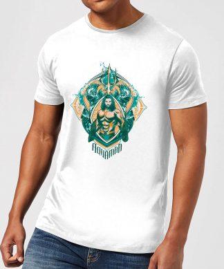Aquaman Seven Kingdoms Men's T-Shirt - White - XS - Blanc chez Casa Décoration