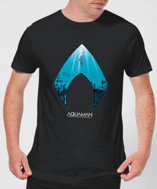 Aquaman Deep Men's T-Shirt - Black - XS chez Casa Décoration
