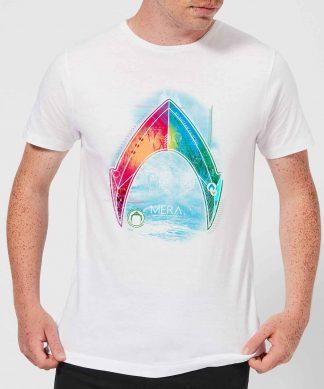 Aquaman Mera Beach Symbol Men's T-Shirt - White - XS - Blanc chez Casa Décoration