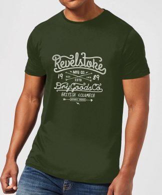 Revelstokes Men's T-Shirt - Forest Green - XS - Forest Green chez Casa Décoration
