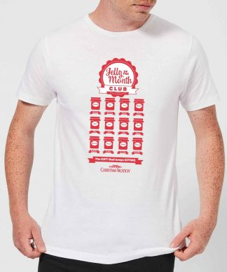 National Lampoon Jelly Of The Month Club Men's Christmas T-Shirt - White - XS - Blanc chez Casa Décoration