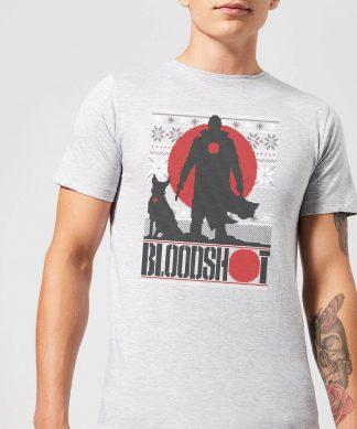 Valiant Bloodshot Men's Holiday T-Shirt - Grey - XS - Gris chez Casa Décoration