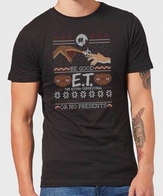 E.T. the Extra-Terrestrial Be Good or No Presents Men's T-Shirt - Black - XS - Noir chez Casa Décoration