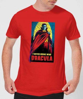 T-Shirt Homme Dracula Rétro - Universal Monsters - Rouge - XS chez Casa Décoration