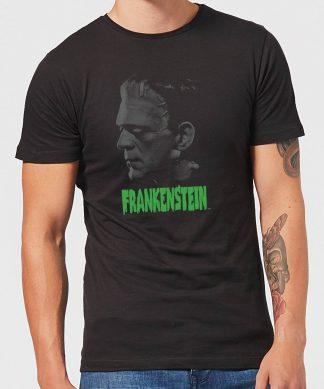 T-Shirt Homme Frankenstein (Tons Gris) - Universal Monsters - Noir - XS - Noir chez Casa Décoration