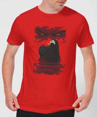 T-Shirt Homme Dracula - Universal Monsters - Rouge - XS - Rouge chez Casa Décoration
