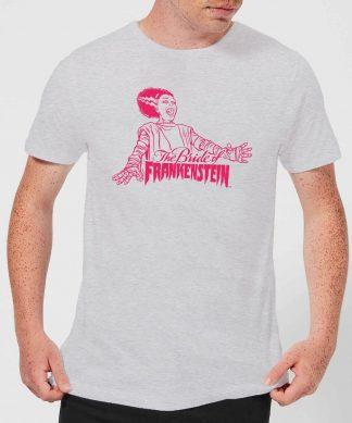 T-Shirt Homme La Fiancée de Frankenstein - Universal Monsters - Gris - XS chez Casa Décoration