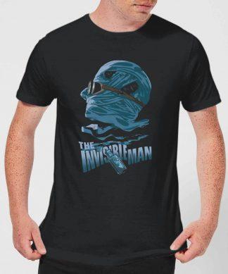 T-Shirt Homme L'Homme Invisible - Universal Monsters - Noir - XS chez Casa Décoration