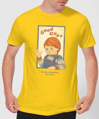 T-Shirt Homme Good Guys Retro Chucky - Jaune - XS - Citron chez Casa Décoration