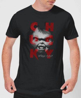 T-Shirt Homme Play Time Chucky - Noir - XS - Noir chez Casa Décoration