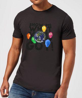 T-Shirt Homme Show Me What You Got Rick et Morty - Noir - XS chez Casa Décoration
