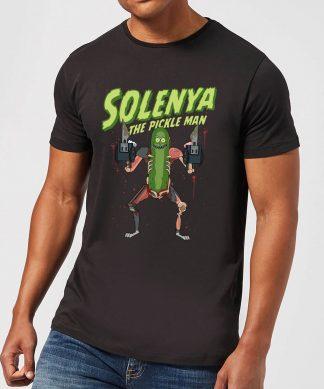 T-Shirt Homme Solenya Rick et Morty - Noir - XS - Noir chez Casa Décoration