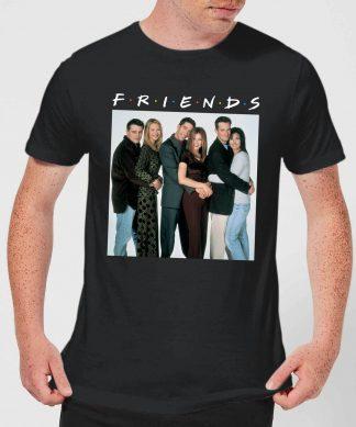 T-Shirt Homme Le Groupe - Friends - Noir - XS - Noir chez Casa Décoration
