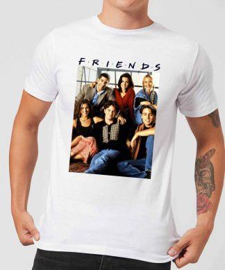T-Shirt Homme Personnages Rétro - Friends - Blanc - XS - Blanc chez Casa Décoration