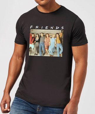 T-Shirt Homme Séance Rétro - Friends - Noir - XS - Noir chez Casa Décoration