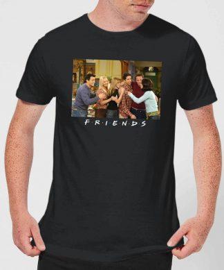 T-Shirt Homme Toute l'Équipe - Friends - Noir - XS - Noir chez Casa Décoration