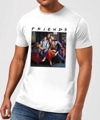 T-Shirt Homme Classique - Friends - Blanc - XS - Blanc chez Casa Décoration