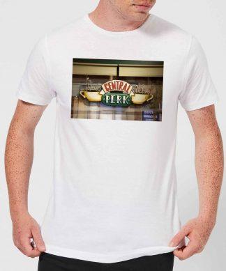 T-Shirt Homme Signe Central Perk - Friends - Blanc - XS - Blanc chez Casa Décoration