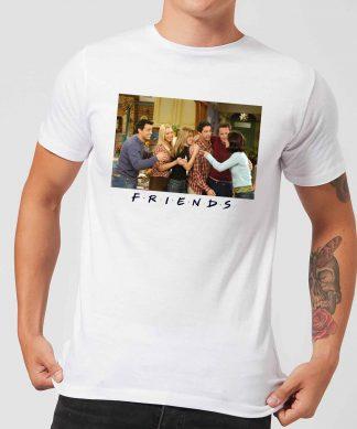 T-Shirt Homme Toute l'Équipe - Friends - Blanc - XS - Blanc chez Casa Décoration