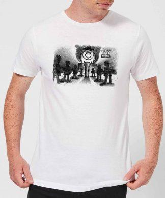 T-Shirt Homme Bayonne le Méchant Toy Story - Blanc - XS - Blanc chez Casa Décoration