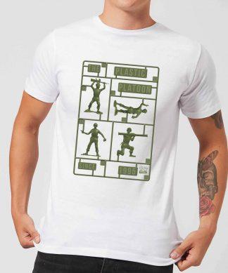 T-Shirt Homme Soldats en Plastique Toy Story - Blanc - XS - Blanc chez Casa Décoration