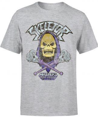 T-Shirt Homme Skeletor Effet Abîmé - Les Maîtres de l'univers - Gris - XS - Gris chez Casa Décoration