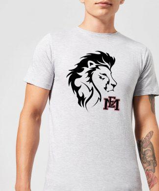 T-Shirt Homme Tête de Lion et Logo - East Mississippi Community College - Gris - XS - Gris chez Casa Décoration