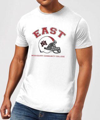 T-Shirt Homme Casque - East Mississippi Community College - Blanc - XS - Blanc chez Casa Décoration